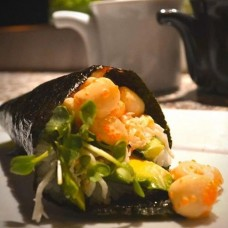 Scallop Hand Roll